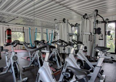 Gym+bikes